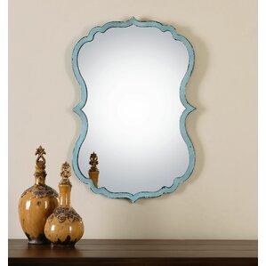 Turquoise Wall Mirror turquoise wall mirror | wayfair