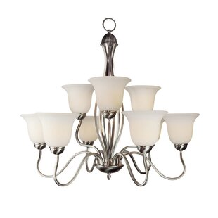 Elba 9-Light Shaded Chandelier by Darby Home Co