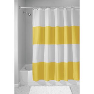 navy and yellow shower curtain.  Navy And Yellow Shower Curtain Wayfair
