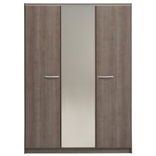 Spraggins 3 Door Wardrobe Armoire By Orren Ellis