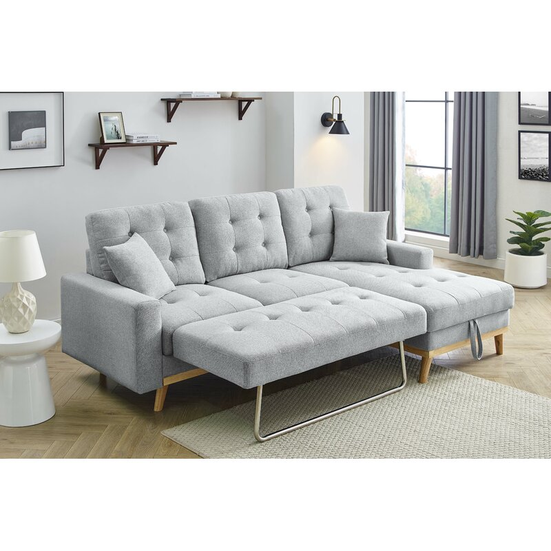 Latitude Run® Fairbank Sofa Bed & Reviews | Wayfair