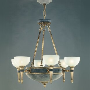 Zanin Lighting Inc. Catalonia 6-Light Shaded Chandelier