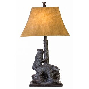 Ulysses Double Bear 31 Table Lamp