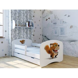 Fox Foxy Bed With Mattress And Drawer By Zoomie Kids