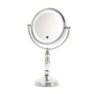 Danielle Creations Touch Button Lit Makeup/Shaving Mirror
