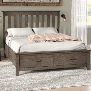 Gracie Oaks Carroll Storage Platform Bed