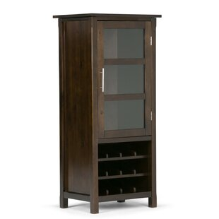 Agnon Bar Cabinet with Wine Storage by Alcott Hill