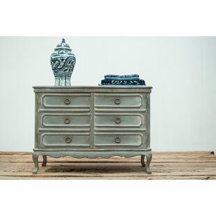 Serpentine French Commode 2 Door Accent Chest by Sarreid Ltd