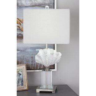 Polystone Glass 28 Table Lamp
