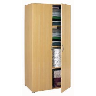 2 door wardrobe with shelves wayfair co uk rh wayfair co uk childrens wardrobe with shelves and drawers childrens wardrobe with shelves and drawers