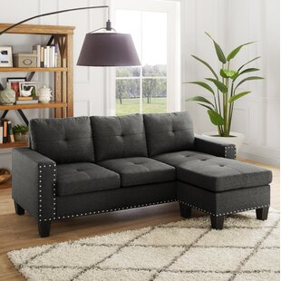 Panella Reversible Sectional Charlton Home
