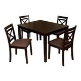 Pires Pub Table 5 Piece Dining Set by Charlton Home®
