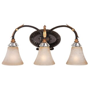 Metropolitan by Minka Bella Cristallo 3-Light Vanity Light