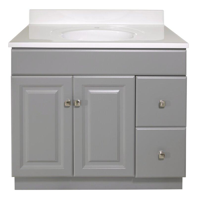"""Searle 37"""" Single Bathroom Vanity Set"""