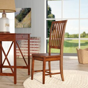 biermann solid wood dining chair - Wayfair Dining Chairs