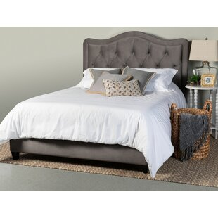 Bromberg Upholstered Panel Bed by Darby Home Co