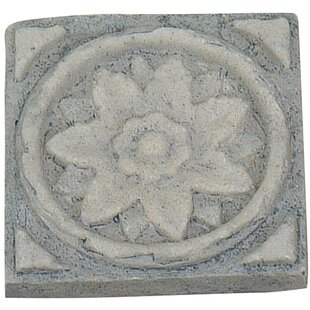 Burst Frieze Square Knob