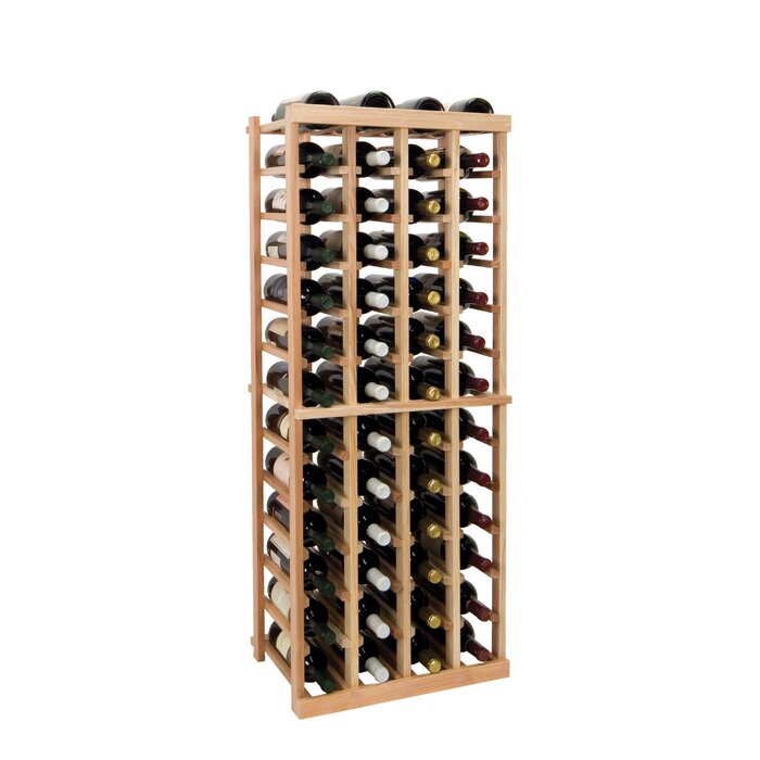 Vintner Series 52 Bottle Floor Wine Rack