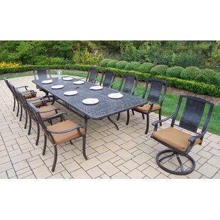 Vanguard 11 Piece Dining Set by Oakland Living Read Reviews