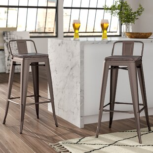 Claremont 76cm Bar Stool (Set Of 2) By Borough Wharf