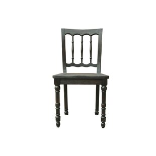Ladson Solid Wood Dining Chair (Set of 2) World Menagerie