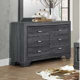 Henry 6 Drawer Double Dresser by Loon Peak®