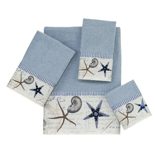 Antigua 4 Piece 100% Cotton Towel Set by Avanti Linens Looking for