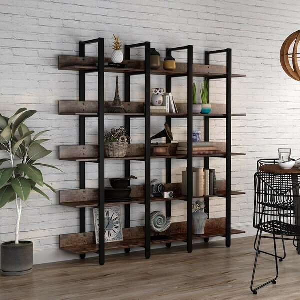 5 Foot Wide Bookcase | Wayfair
