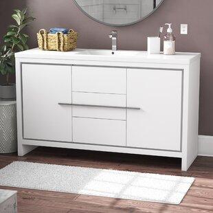 Melillo 59 inch  Single Bathroom Vanity Set