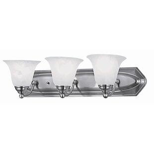 DVI Diamond 3-Light Vanity Light