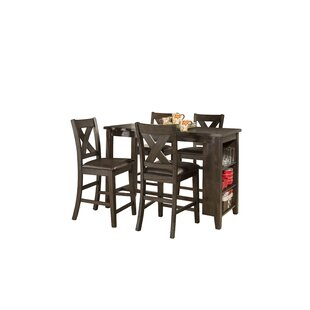 Balmoral Spencer 5 Piece Counter Height Dining Set Gracie Oaks