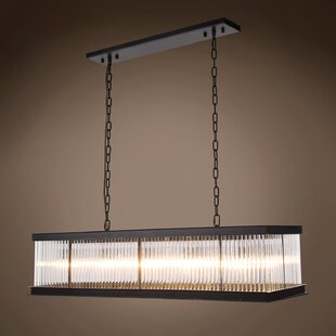 Fulghum 10-Light Square/Rectangle Chandelier