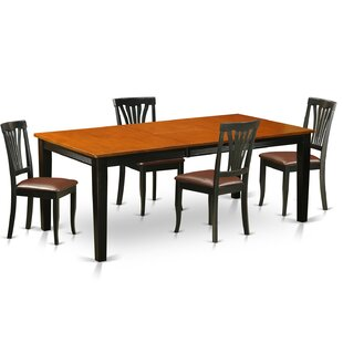 Loraine 5 Piece Dining Set by Red Barrel Studio Coupont