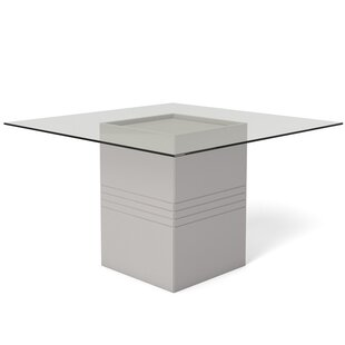 Bourgeois Square Dining Table by Orren Ellis Today Sale Only