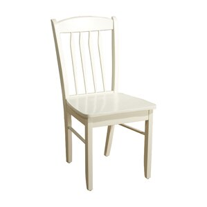 Oreland Solid Wood Dining Chair by Three Posts