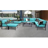 Benner 13 Piece Sectional Seating Group with Cushions by Ivy Bronx