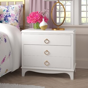 Blakely 3 Drawer Nightstand by Rosdorf Park