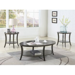 Engen 3 Piece Coffee Table Set by Red Barrel Studio