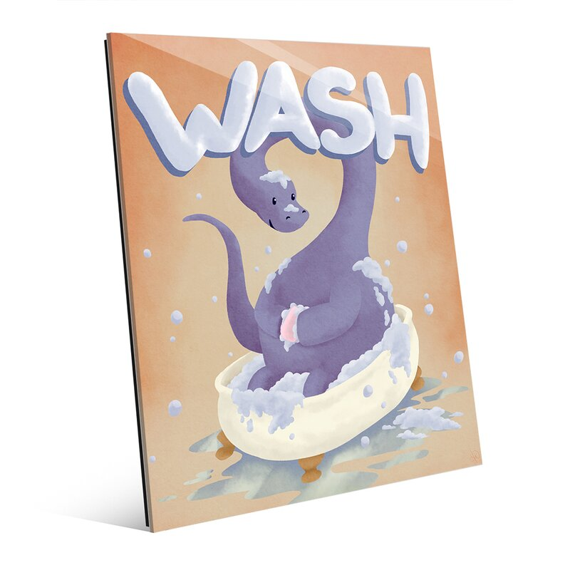 Click Wall Art Wash Dinosaur Graphic Art Wayfair