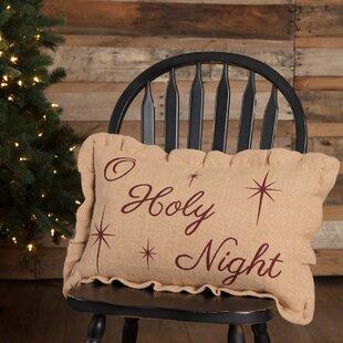 Fossen O Holy Night Lumbar Pillow