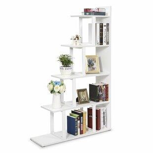 Ramsauer 5 Shelf Ladder Corner Bookcase by Ebern Designs