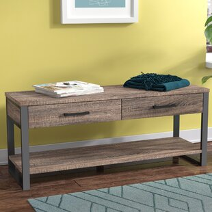 Arsdale Wood Storage Bench by Orren Ellis