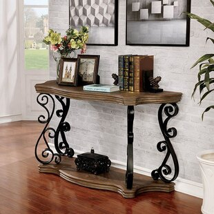 Jovita Traditional Console Table by Fleur De Lis Living