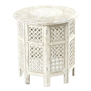 Merrick Spring Delight Wood End Table
