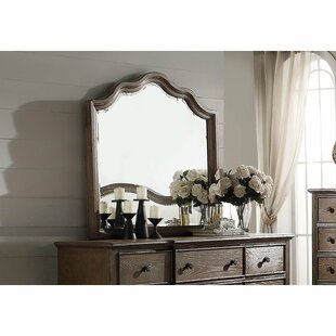 9 Drawers Double Dresser with Mirror