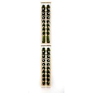 Premium Cellar Series 40 Bottle Floor Wine Rack by Wineracks.com