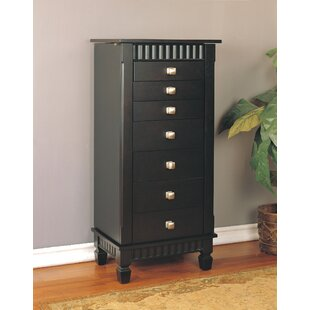 Dillon Jewelry Armoire with Mirror by Brayden Studio