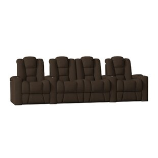 Latitude Run Premium Home Theater Row Seating (Row of 4)
