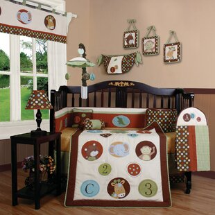 Clearance Boutique Animal Scholar 13 Piece Crib Bedding Set ByGeenny