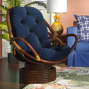 Jimena Swivel Papasan Chair